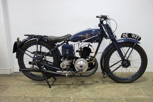 1933 Excelsior Empire Twin Port 150 cc Twin Stroke SOLD