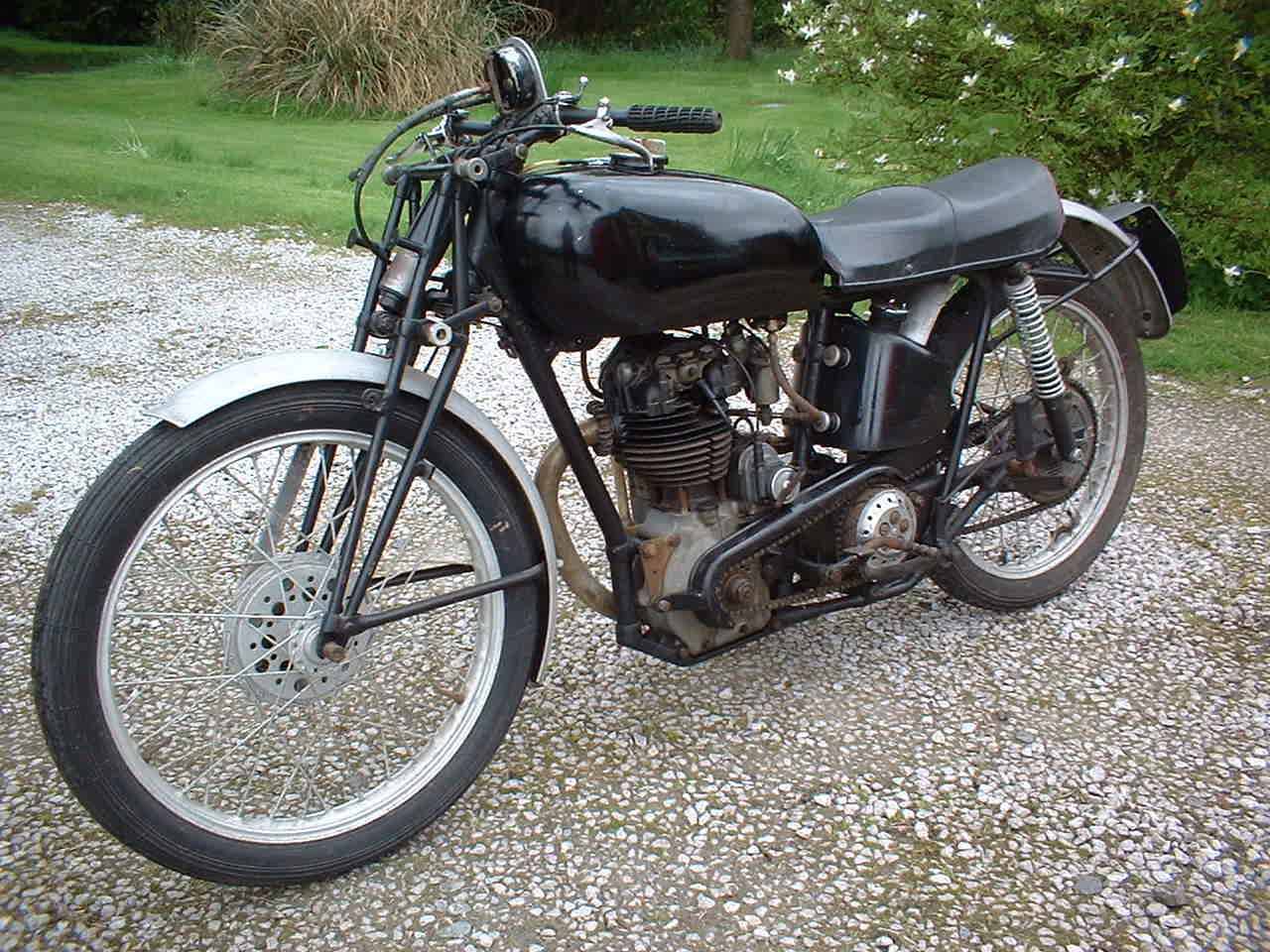 1938 Excelsior Manxman Earls Court show bike For Sale (picture 5 of 5)