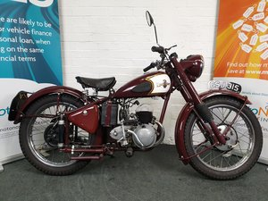 1951 Excelsior Talisman Fully Restored.