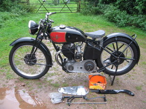 1936 Excelsior Manxman 350 For Sale by Auction