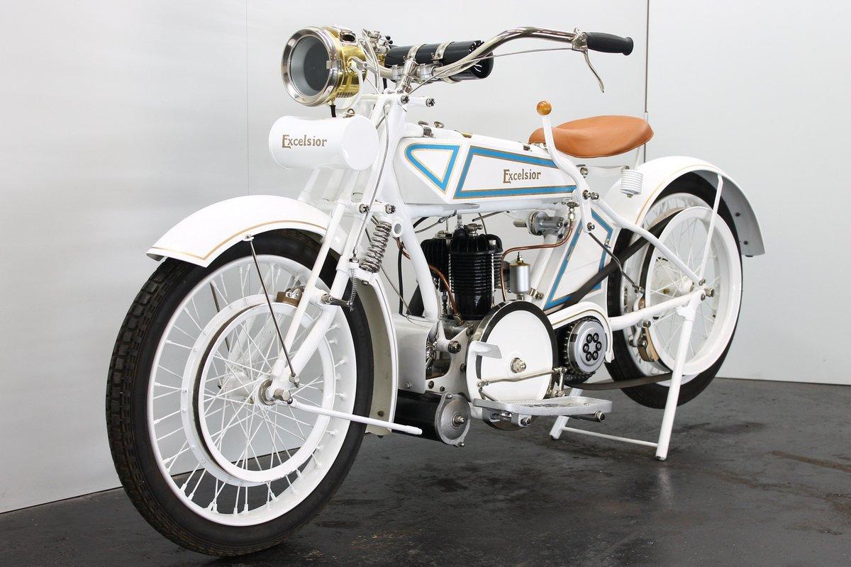 Excelsior 4.25hp c.1922 550cc 1 cyl sv Blackburne For Sale (picture 3 of 6)