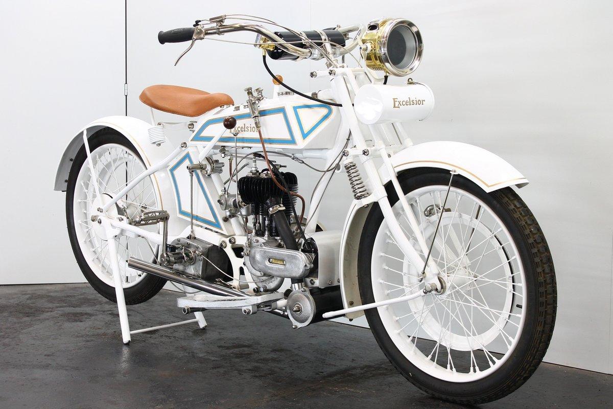 Excelsior 4.25hp c.1922 550cc 1 cyl sv Blackburne For Sale (picture 4 of 6)