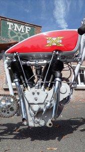 1913 EXCELSIOR  1000cc V twin board track racer