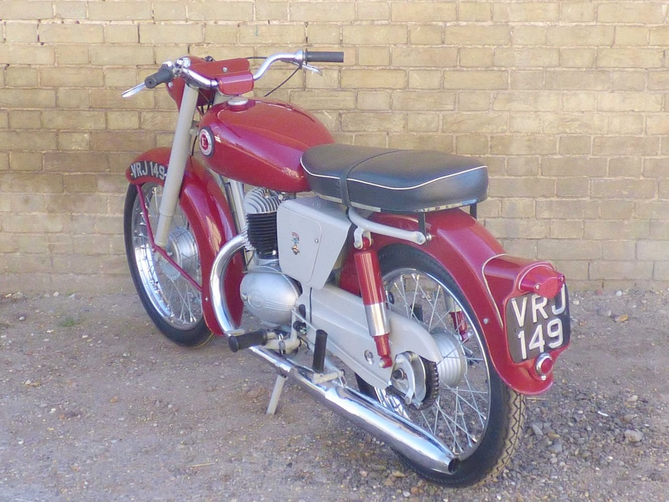 c1961 Excelsior Roadmaster 197cc For Sale (picture 5 of 6)