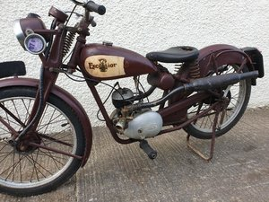 1938 Excelsior J10 Original bike Project
