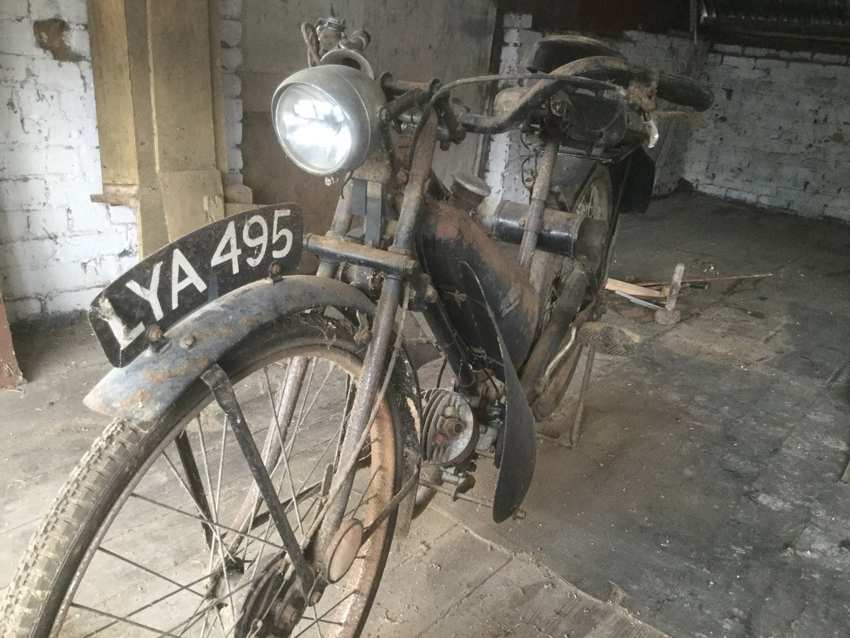 1949 Excelsior Autobyk Auto Cycle 98cc For Sale (picture 2 of 6)