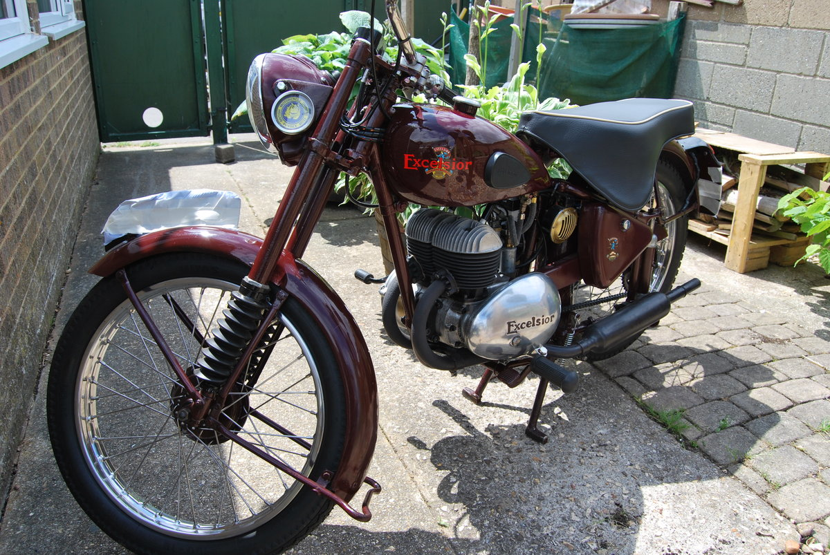 1952 Excelsior Talisman Twin,  TT1 For Sale (picture 2 of 6)