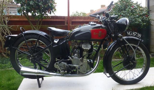 1936 EXCELSIOR 350CC MANXMAN F12 (LOT 363)  SOLD by Auction (picture 1 of 1)