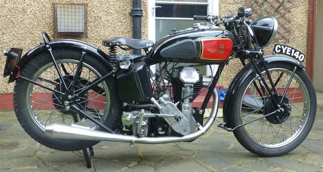 1935 EXCELSIOR 350CC MANXMAN (LOT 364) SOLD by Auction (picture 1 of 1)