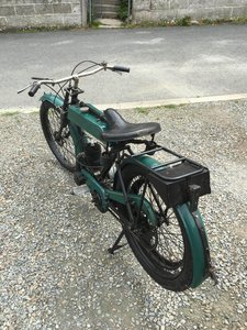 Excelsior flat tank 1920s motorcycle