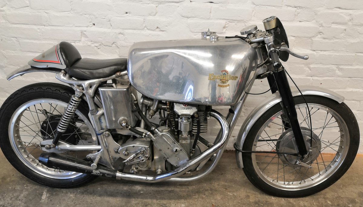 1948 ONE OFF EXCELSIOR 250 MANXMAN with TT PROVENANCE For Sale (picture 1 of 6)
