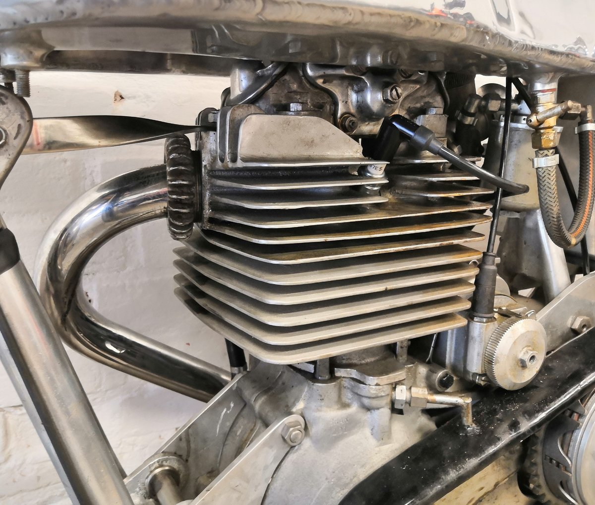 1948 ONE OFF EXCELSIOR 250 MANXMAN with TT PROVENANCE For Sale (picture 6 of 6)