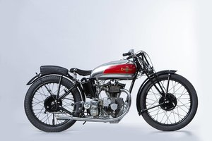 Picture of 1933 Excelsior 250cc Mechanical Marvel Racing Motorcycle Lot 714 For Sale by Auction