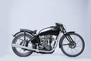 Picture of 1939 Excelsior 250cc Manxman Racing Motorcycle Lot 716 For Sale by Auction