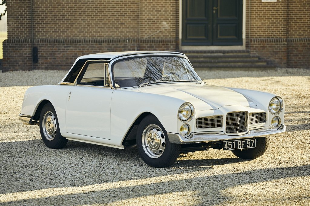 Facel Vega Facellia 1960 'Factory experimental test car' For Sale (picture 2 of 6)
