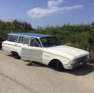 1961 61 ford falcon station wagon