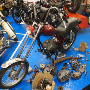 1974 Rare Fantic Chopper, Starts And Runs Well. For Sale