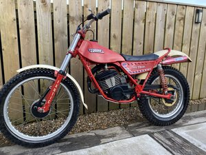 1985 FANTIC 200 TWIN SHOCK TRIAL FANTASTIC BIKE ROAD REGD & V5  For Sale