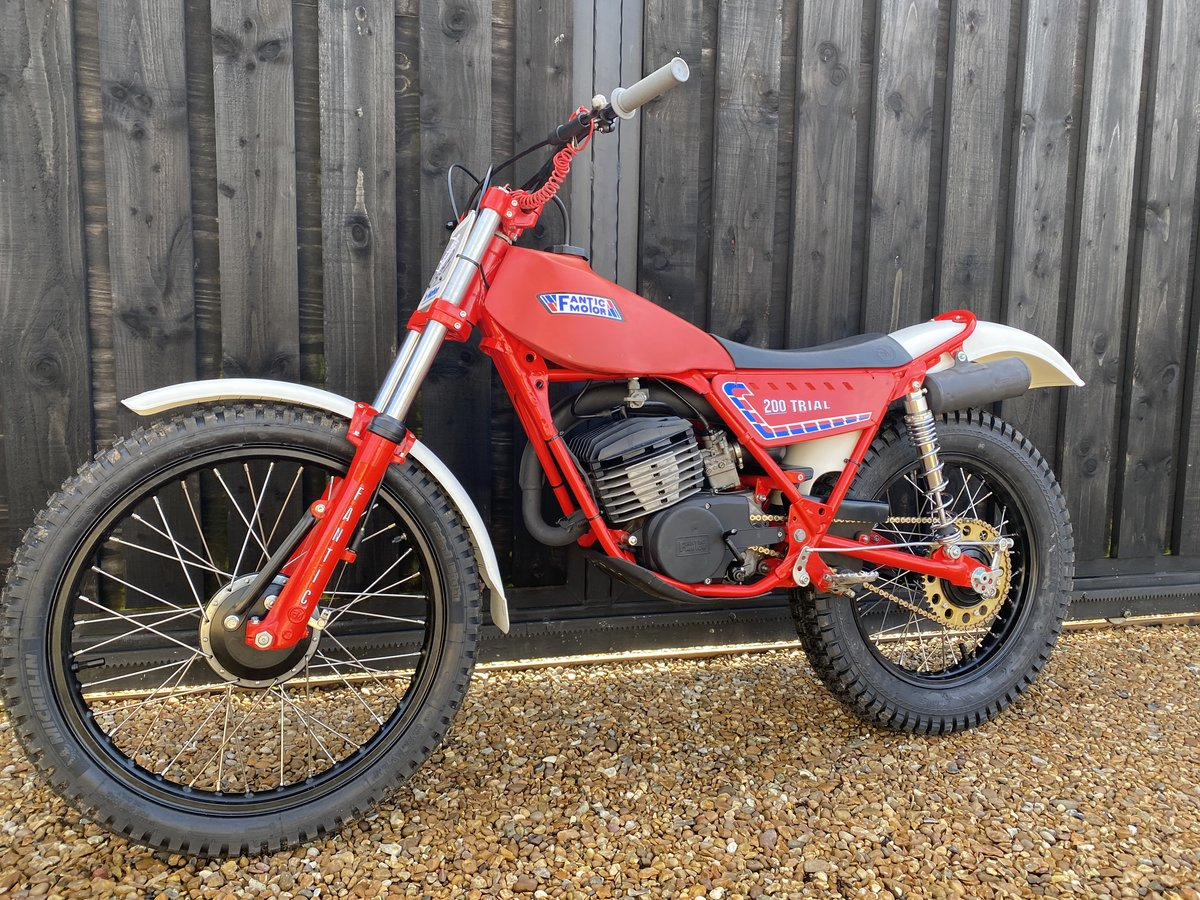 1985 FANTIC 200 TWIN SHOCK TRIAL BEST EVER MINTER! £3695  For Sale (picture 3 of 6)