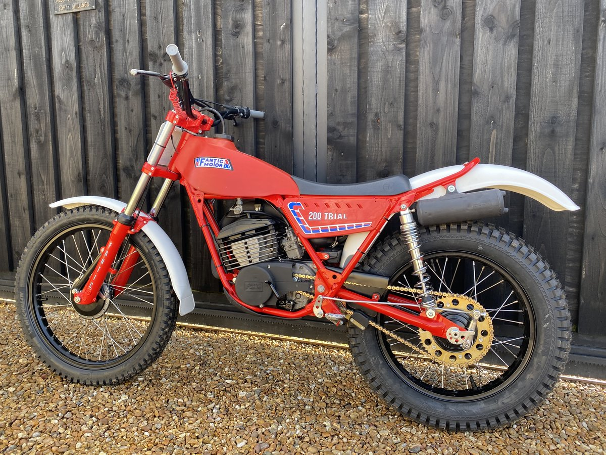 1985 FANTIC 200 TWIN SHOCK TRIAL BEST EVER MINTER! £3695  For Sale (picture 4 of 6)