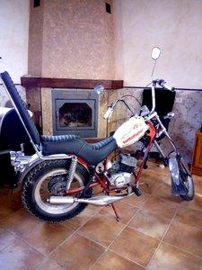 1975 Fantic chopper good condition- original