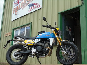 Picture of 2021 Fantic Caballero Scrambler 500cc 50th Anniversary Edition For Sale