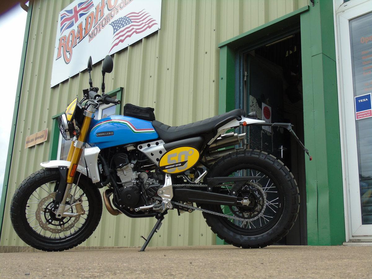 2020 Fantic Caballero Scrambler 500cc 50th Anniversary Edition  For Sale (picture 2 of 6)