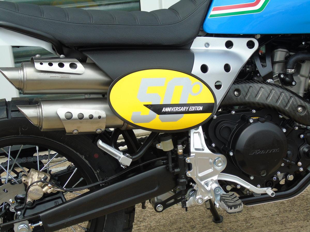 2020 Fantic Caballero Scrambler 500cc 50th Anniversary Edition  For Sale (picture 3 of 6)