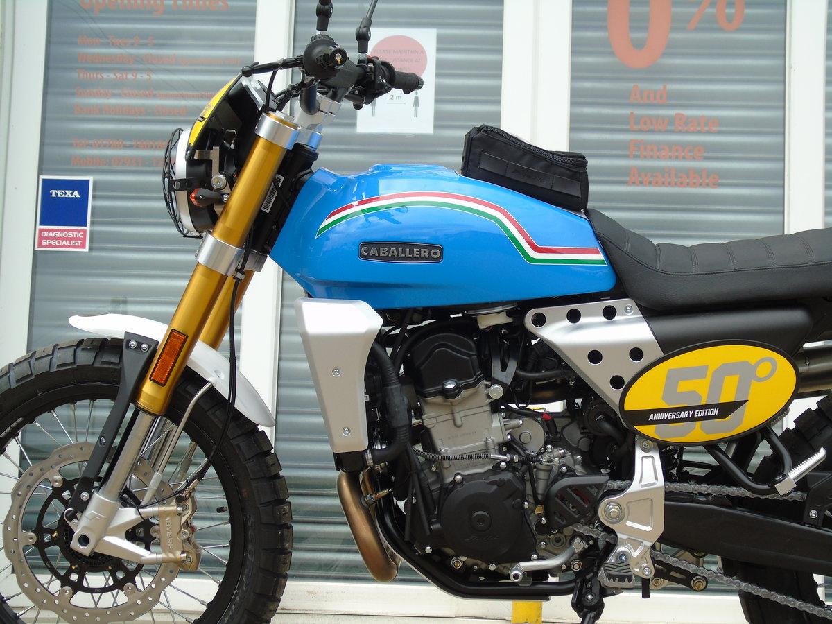 2020 Fantic Caballero Scrambler 500cc 50th Anniversary Edition  For Sale (picture 4 of 6)