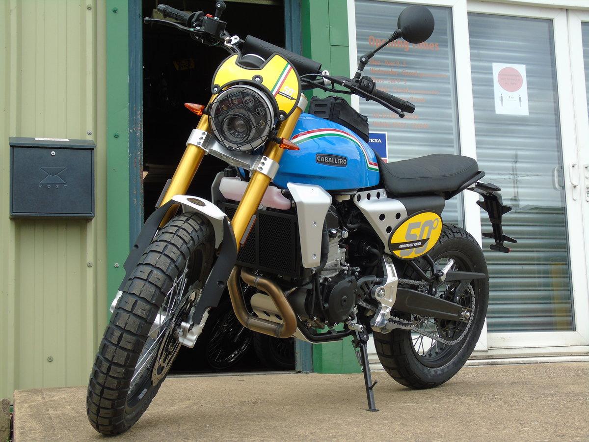 2020 Fantic Caballero Scrambler 500cc 50th Anniversary Edition  For Sale (picture 6 of 6)