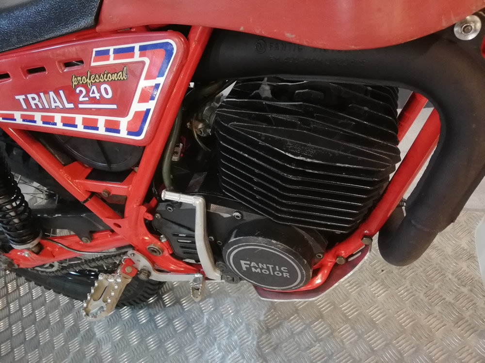 1983 Fantic 240 Twinshock Trials For Sale (picture 4 of 6)