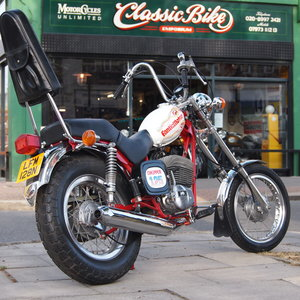 Picture of 1975 Rare Fantic Chopper 125 RESERVED FOR EAMON. SOLD