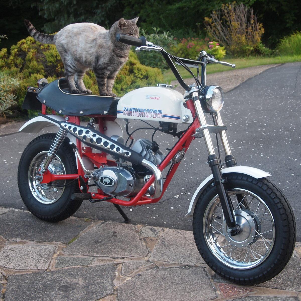 1973 Rare 49cc Fantic Super Rocket Monkey Bike, Wonderful. For Sale (picture 2 of 6)
