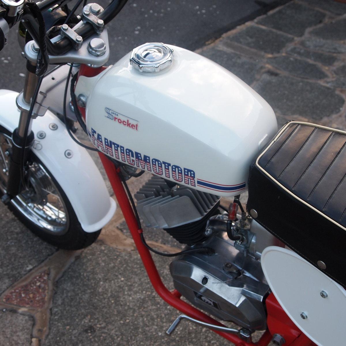 1973 Rare 49cc Fantic Super Rocket Monkey Bike, Wonderful. For Sale (picture 4 of 6)