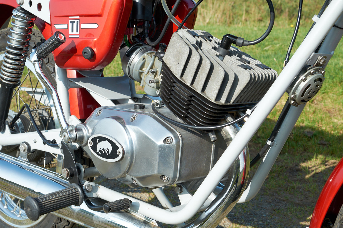 1978 Fantic TI Turismo Internazionale 6 Speed Moped 50 SOLD (picture 6 of 6)