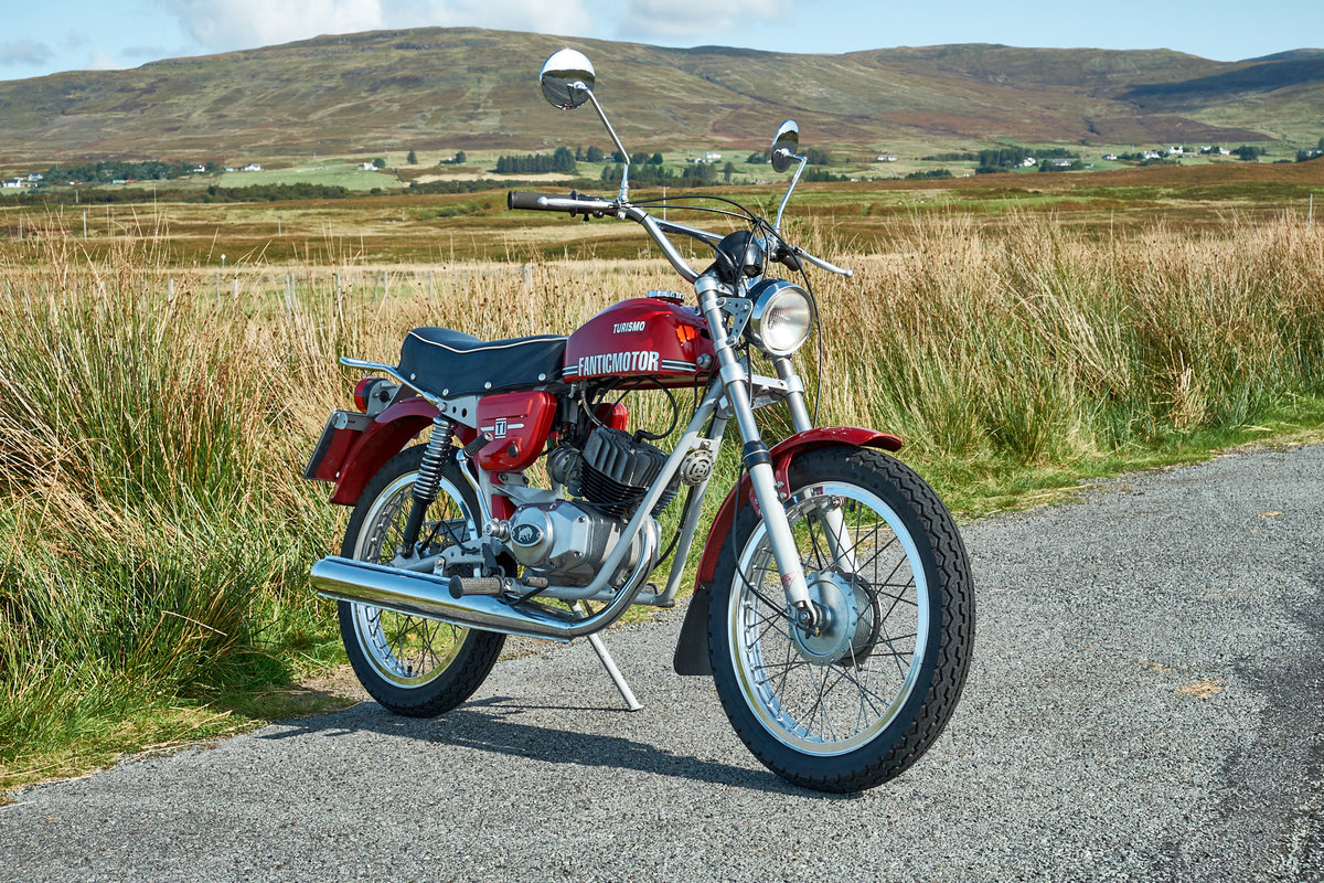1978 Fantic TI Turismo Internazionale 6 Speed Moped 50 SOLD (picture 1 of 6)