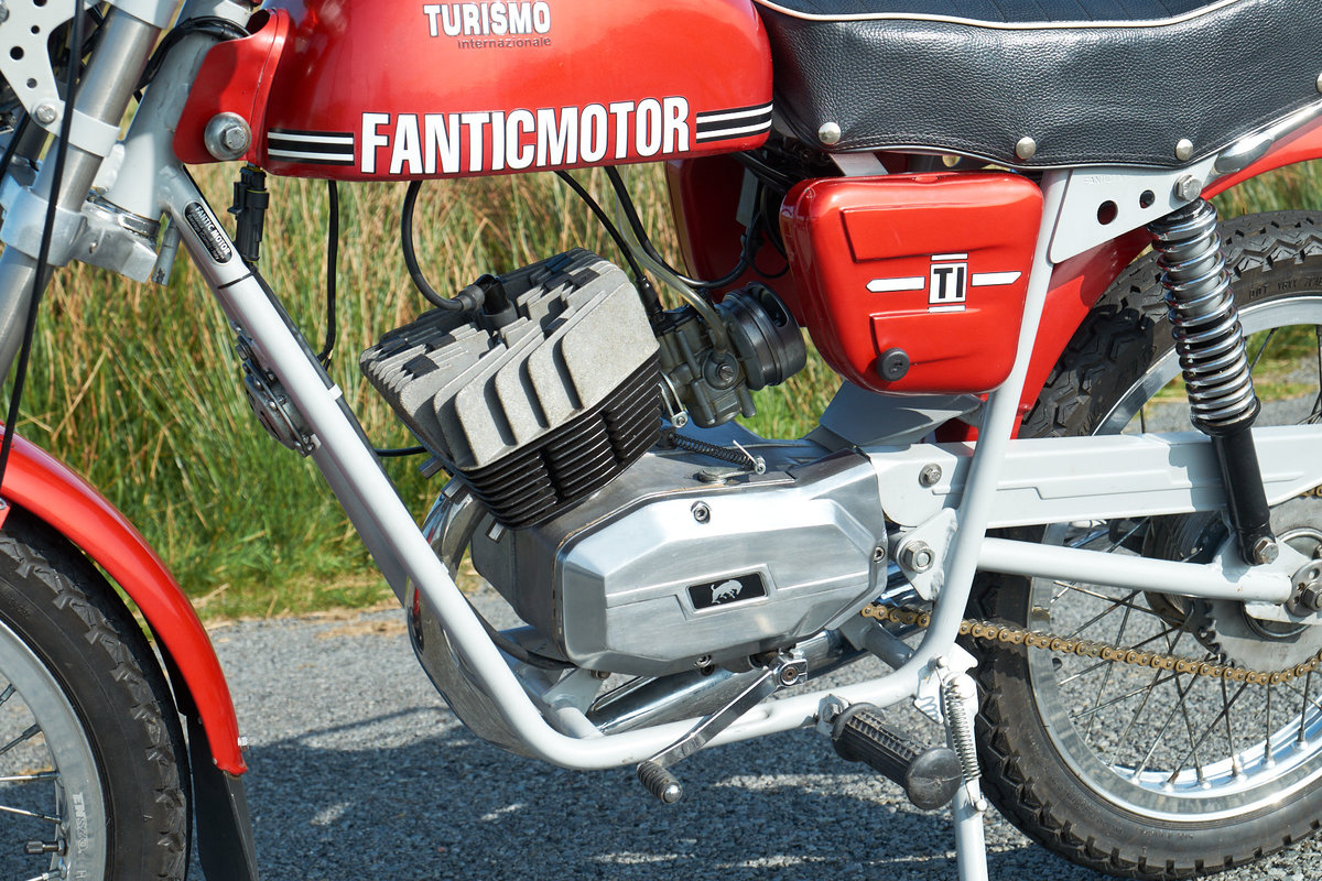 1978 Fantic TI Turismo Internazionale 6 Speed Moped 50 SOLD (picture 5 of 6)