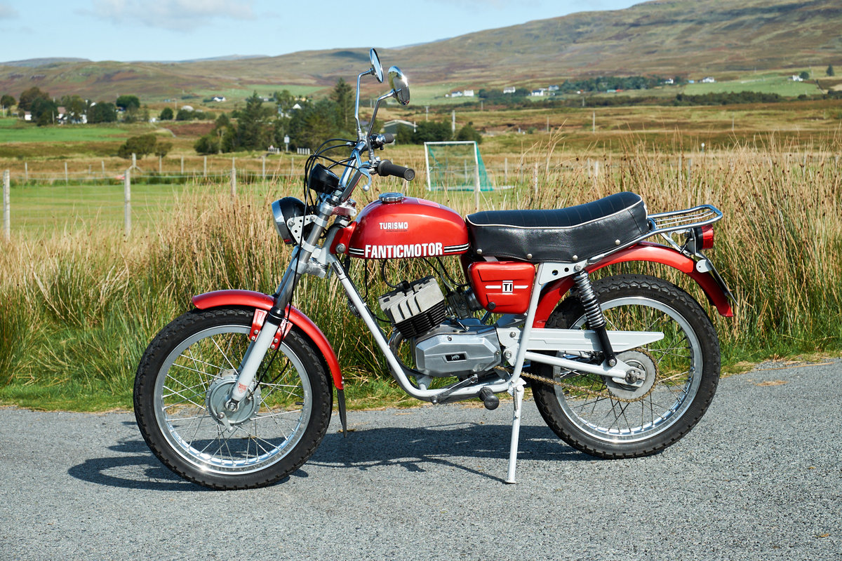1978 Fantic TI Turismo Internazionale 6 Speed Moped 50 SOLD (picture 2 of 6)