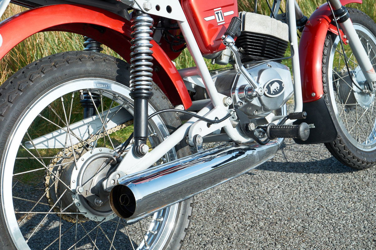 1978 Fantic TI Turismo Internazionale 6 Speed Moped 50 SOLD (picture 4 of 6)