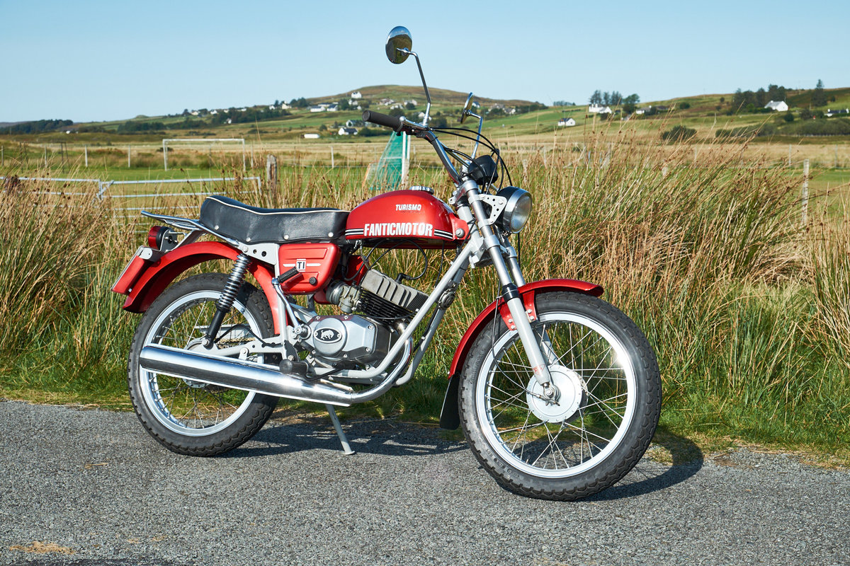 1978 Fantic TI Turismo Internazionale 6 Speed Moped 50 SOLD (picture 3 of 6)