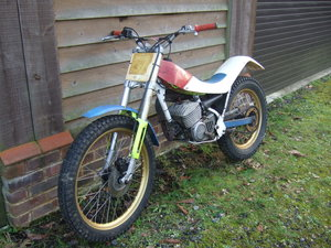 Fantic Monoshock Trials Trail Motorcycle FM430