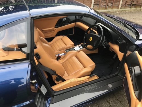 1999 Fantastic 355 GTS F1 in the Rare TDF Blue/Tan leather, FFSH For Sale (picture 3 of 6)