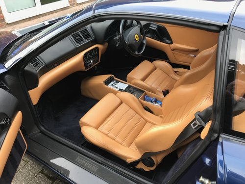 1999 Fantastic 355 GTS F1 in the Rare TDF Blue/Tan leather, FFSH For Sale (picture 4 of 6)