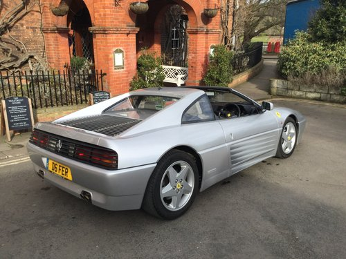 1994 BEAUTIFUL & ONE OF THE LAST UK SUPLIED FERRARI 348's BUILT  For Sale (picture 4 of 6)