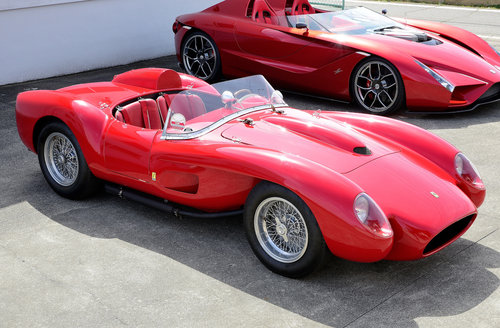 1958 Ferrari 250 Tr Recreation By Giordanengo Sold Car And