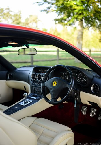 1999 Ferrari 550 Maranello - Only 12,926 Miles! For Sale (picture 5 of 6)