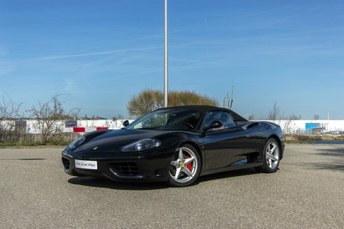 2002 Ferrari 360 Spider / low mileage For Sale (picture 1 of 6)