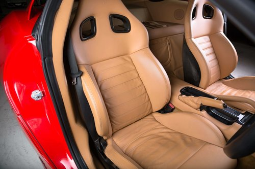 2007 Ferrari 599 GTB Fiorano - Rosso Scuderia+Carbon Door Inserts For Sale (picture 5 of 6)