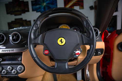 2007 Ferrari 599 GTB Fiorano - Rosso Scuderia+Carbon Door Inserts For Sale (picture 6 of 6)