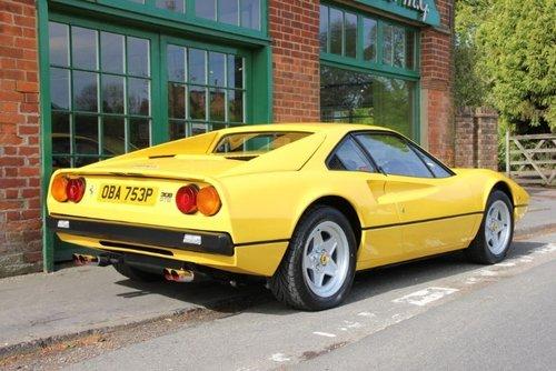 1976 Ferrari 308 GTB RHD Vetroresina For Sale (picture 2 of 5)